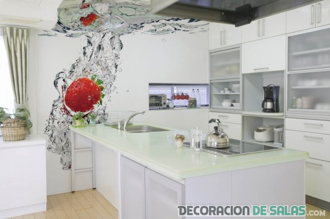 Vinilos para alegrar la decoraci n de tu cocina for La cocina dela abuela paca