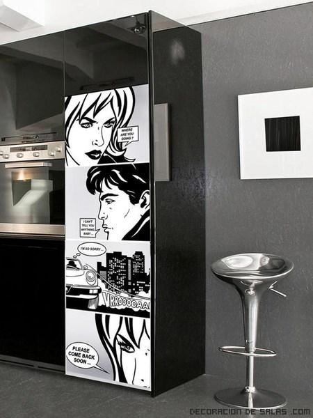 decoración para cocinas en color negro